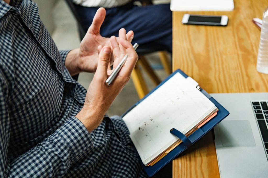 note taking during meeting